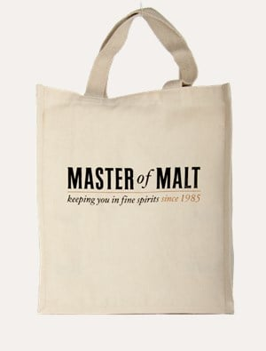 Master of Malt Canvas Bag