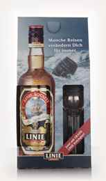 Linie Aquavit with Tasting Glass