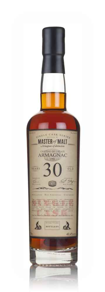 Château de Lacaze Armagnac 30 Year Old 1982 - Single Cask (Master of Malt)