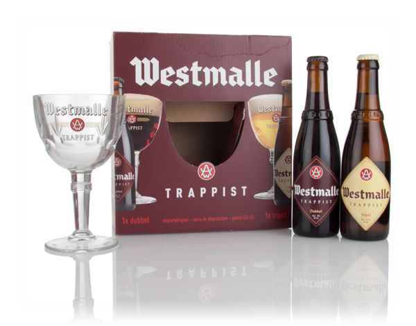 Westmalle Gift Pack with Glass