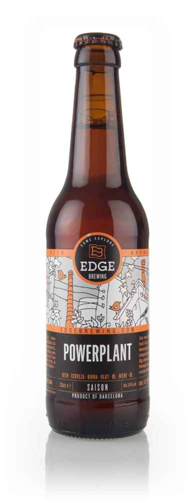 Edge Brewing Powerplant Saison (after Best Before Date)