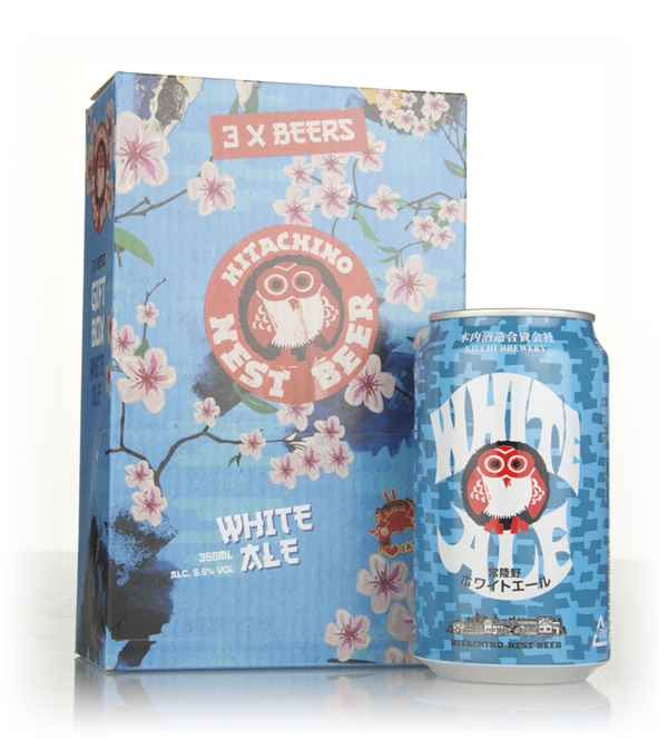 Hitachino Nest White Ale Gift Pack (3 x 35cl)