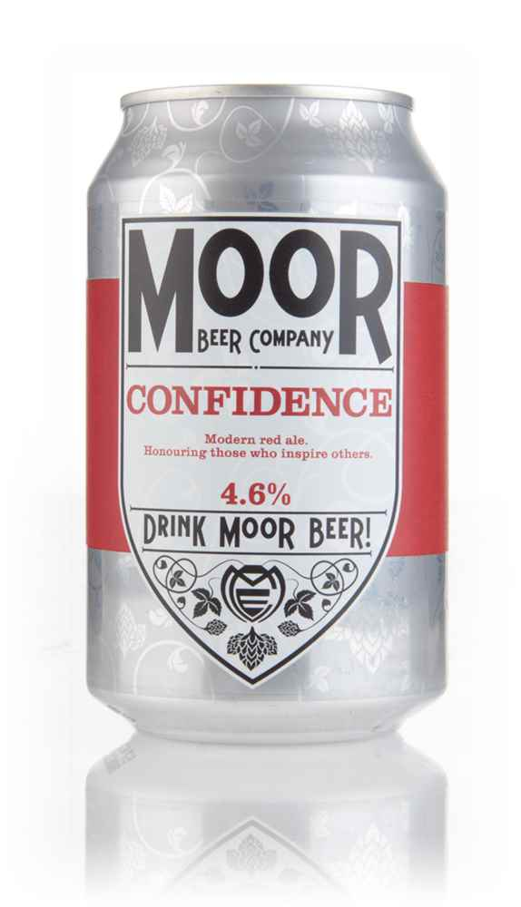 Moor Beer Company Confidence Can