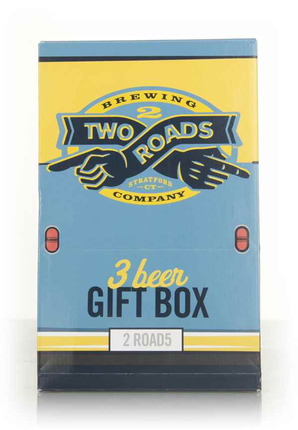 Two Roads 3 Beer Gift Box (after Best Before Date)