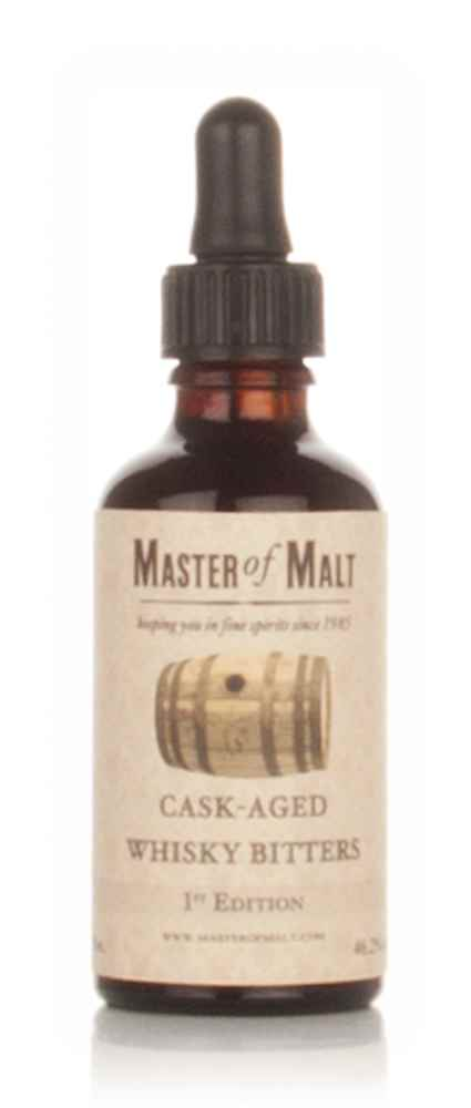 Master of Malt Cask-Aged Whisky Bitters 1st Edition 5cl