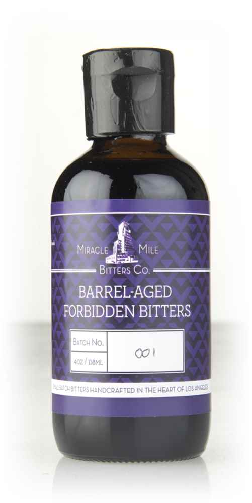 Miracle Mile Barrel-Aged Forbidden Bitters