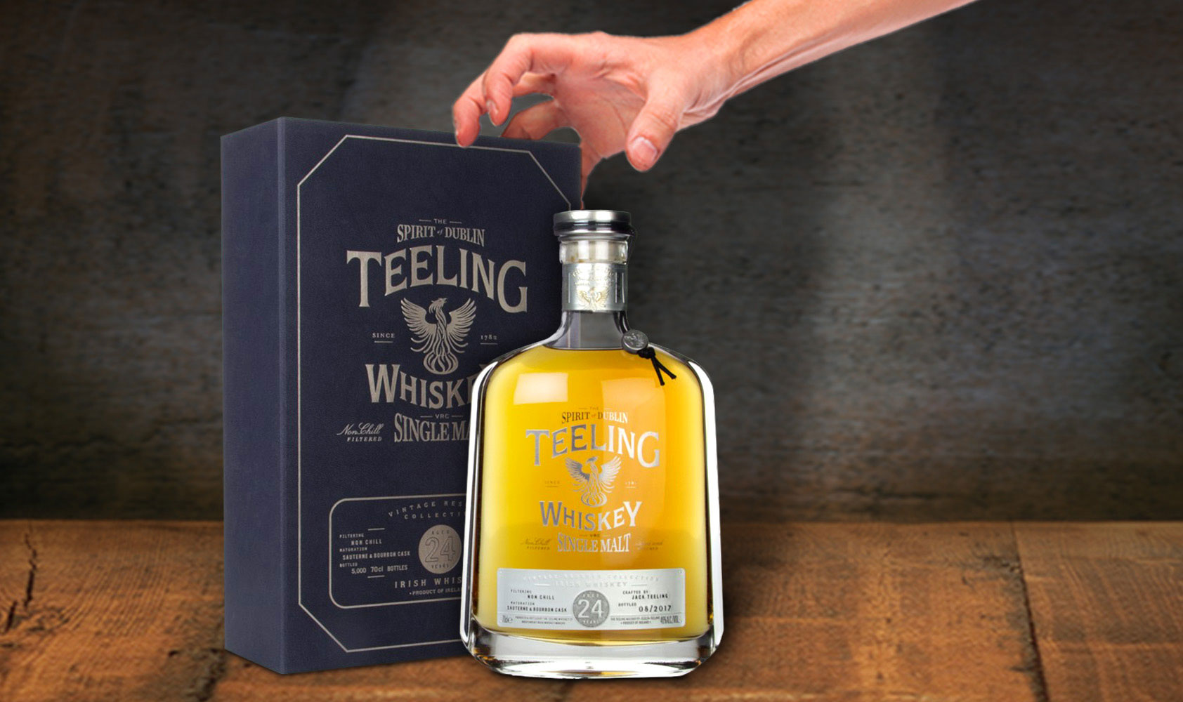 The winner of our Teeling #BagThisBottle competition is…
