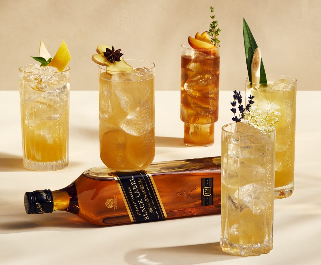Johnnie Walker highball collection