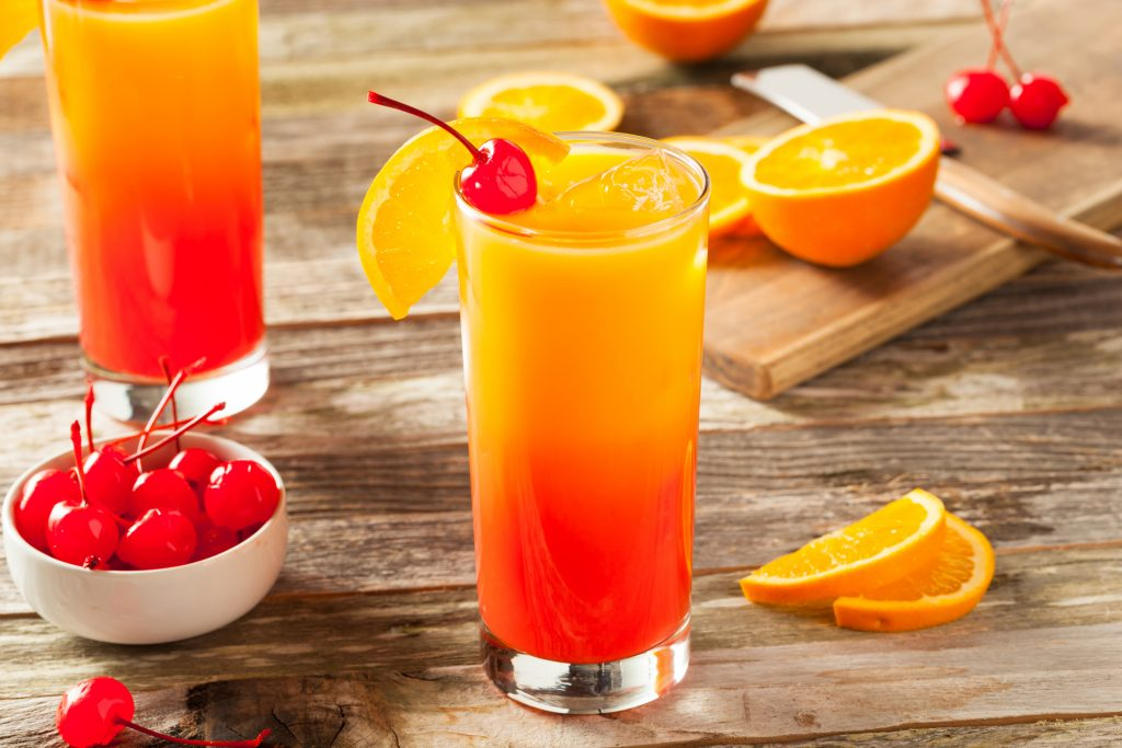 The Tequila Sunrise,