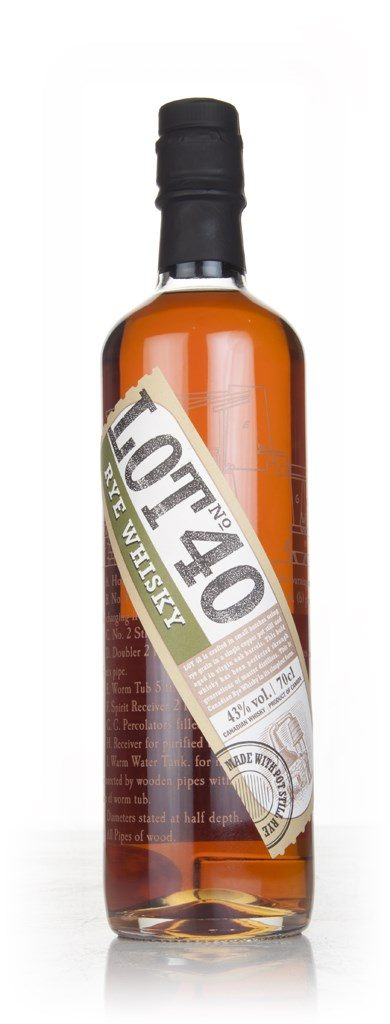 world spirits lot 40 rye