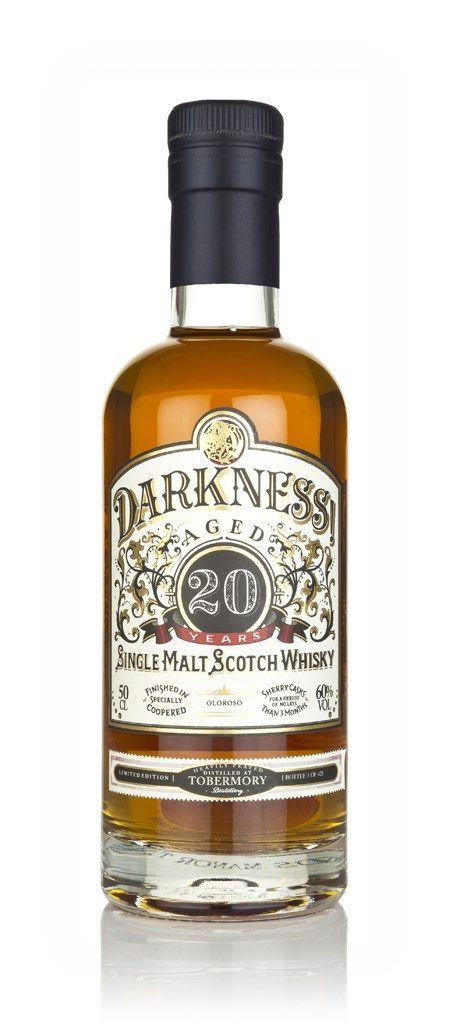 Darkness! Tobermory Heavily Peated 20 Year Old Oloroso Cask Finish Black Friday