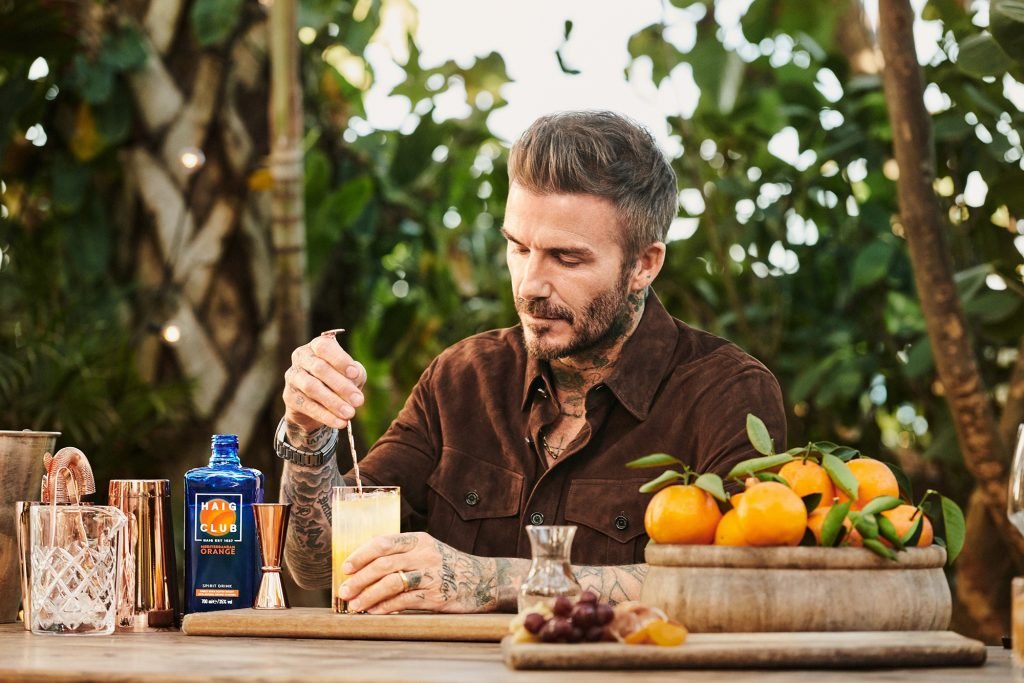 On The Nightcap: 26 March edition we've got the lovely David Beckham and his new shiny new whisky.