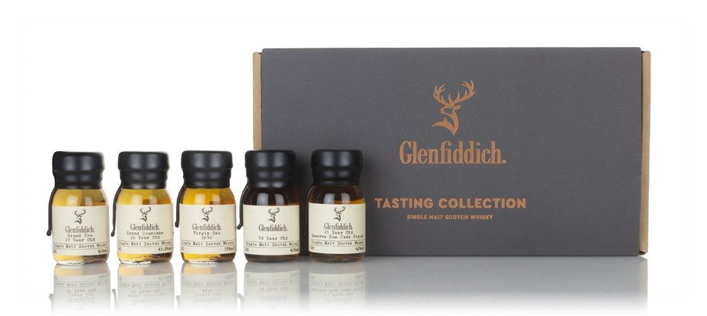 Glenfiddich Tasting Collection Set with drams