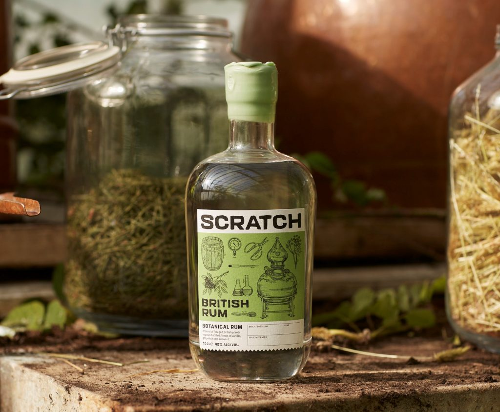 Scratch botanical rum