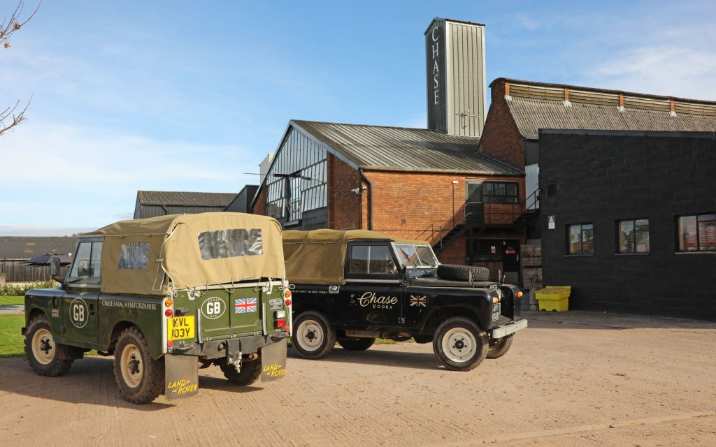 Chase Distillery in Herefordshire