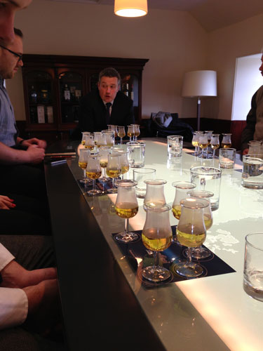 Ballantines blending process