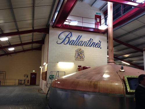 Ballantines production motivation