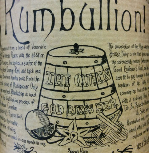 Rumbullion Grog Tub