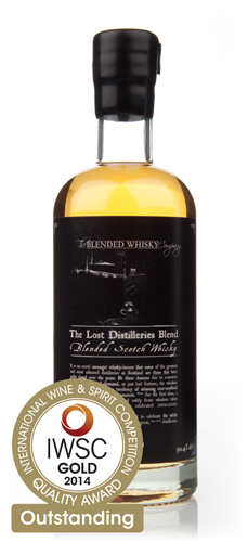 The Lost Distilleries Blend IWSC 2014 Gold Outstanding
