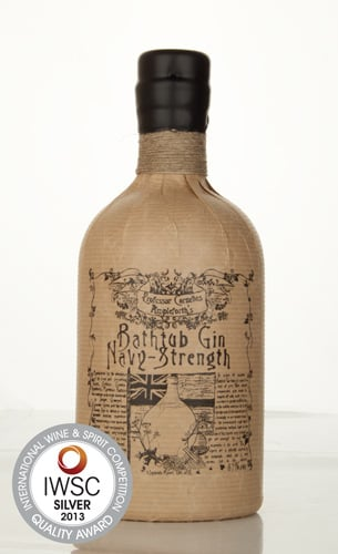 Bathtub Gin Navy Strength IWSC 2013