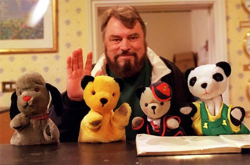 Brian Blessed and Sooty
