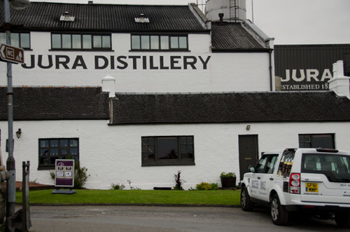 Jura Distillery and MoM Mobile