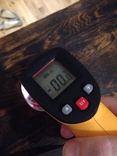 Master of Cocktails infrared thermometer