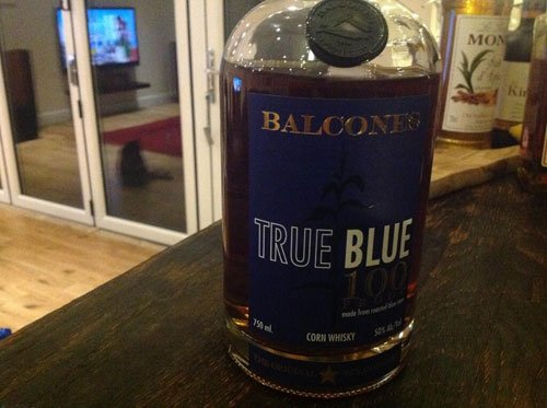 Master of Cocktails Christmassy Ginger Sour Balcones True Blue 100 Proof
