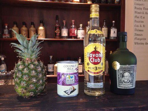 Master of Cocktails Pina Colada ingredients