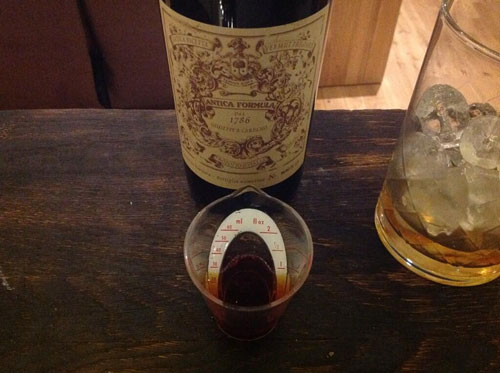 Master of Cocktails Vieux Carre Noeleux Carpano Antica Formula vermouth