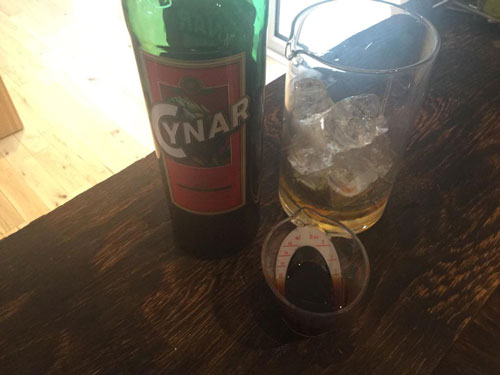 Master of Cocktails Cynar