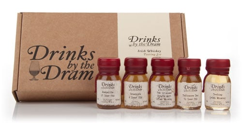 Irish Whiskey Tasting Set Drinks by the Dram