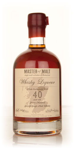 Master of Malt 40 Year Old Speyside Whisky Liqueur