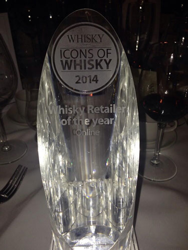 Icons of Whisky 2014 Global Retailer of the Year