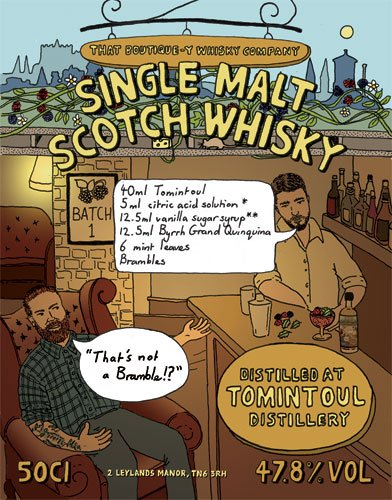 Tomintoul whisky That Boutique-y Whisky Company