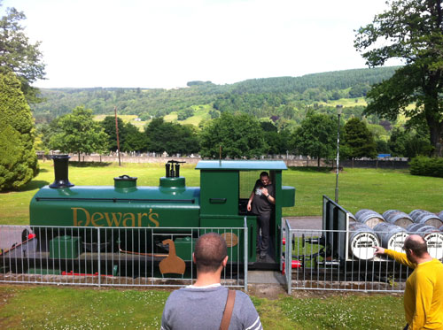 dewars train dramboree whisky weekend 2013.jpg