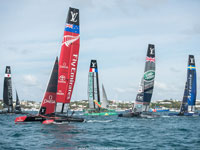 Win Tickets to the America's Cup World Series Sailors Lounge!
