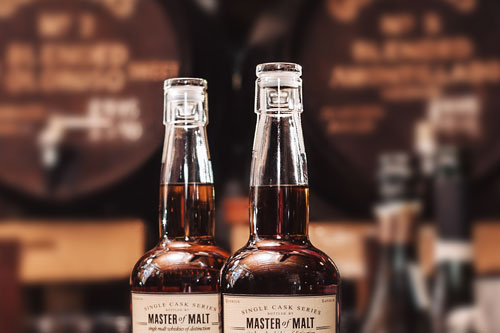 Master of Malt Single Cask Glass Closure