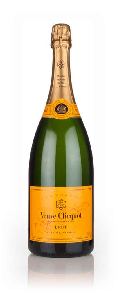 veuve clicquot brut yellow label magnum 1 5l champagne master of malt. Black Bedroom Furniture Sets. Home Design Ideas
