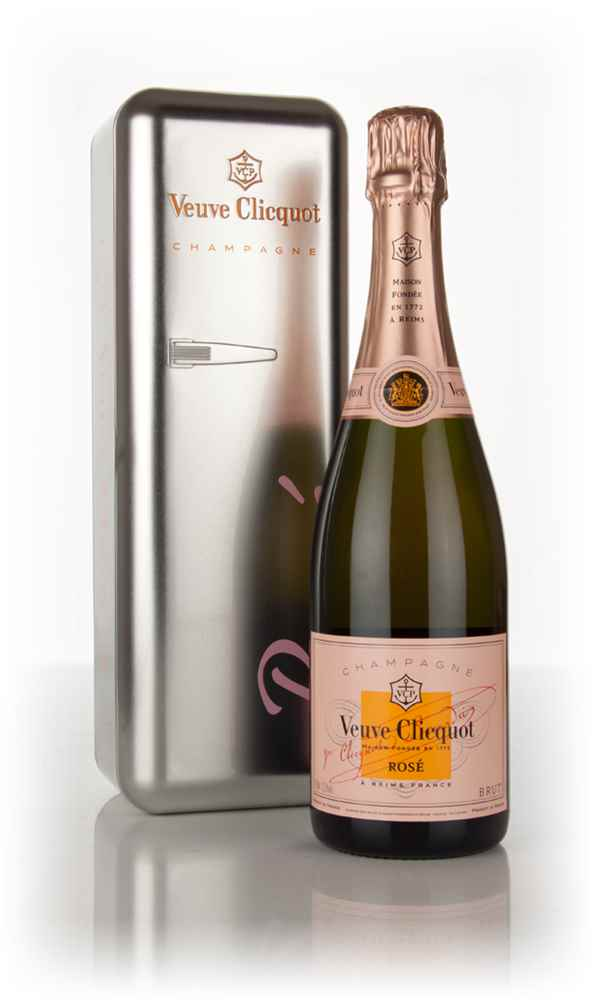 Veuve Clicquot Rosé - Metal Fridge Gift Box
