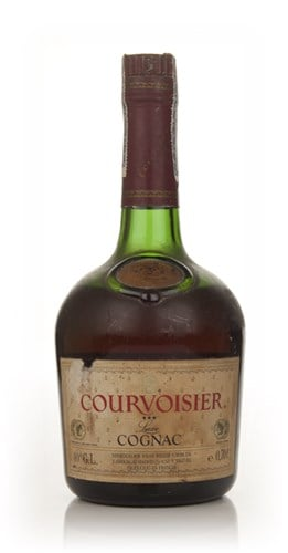 Courvoisier 3 Star Cognac - early 1980s