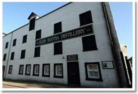 Glen Scotia Whisky Distillery