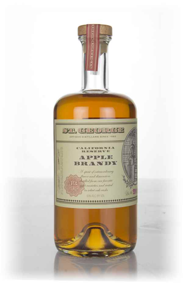 St. George California Reserve Apple Brandy (2017 Edition) Fruit Brandy
