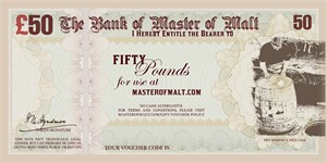 £50 Master of Malt Gift Voucher