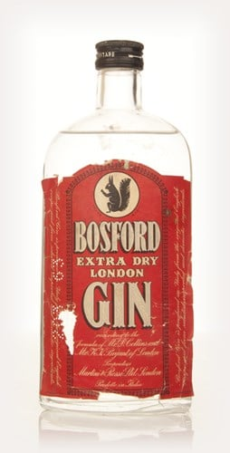 Bosford Extra Dry Gin - 1964
