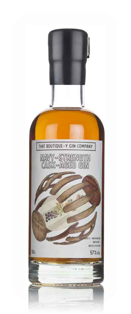 Single Cask Bathtub Gin - Palo Cortado Cask Navy-Strength (That Boutique-y Gin Company)