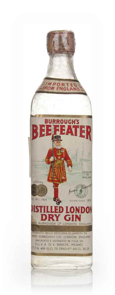 Beefeater London Dry Gin - 1960s