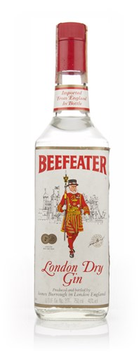 Beefeater London Dry Gin - 1980s