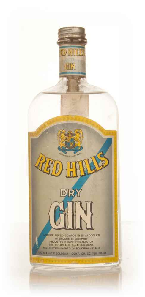 Red Hills Dry Gin - 1966