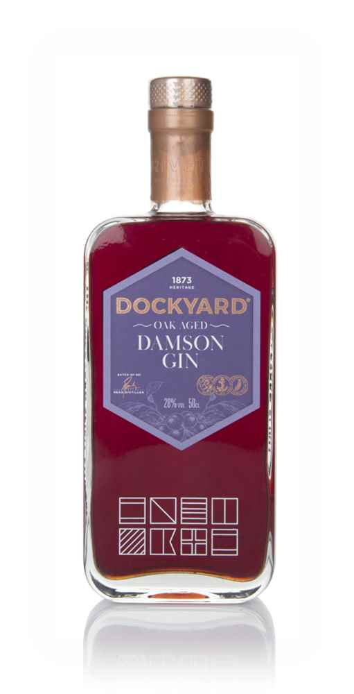 Copper Rivet Dockyard Oak Aged Damson Gin